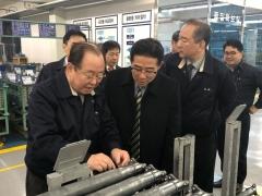 김제시,자동차 부품 기업 방문 투자유치 협의