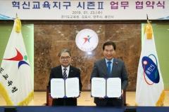 용인시, 경기도교육청과 '혁신교육지구 시즌Ⅱ' 업무협약