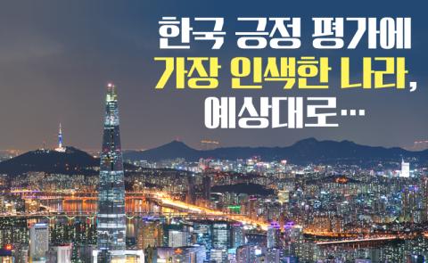 한국 긍정 평가에 가장 인색한 나라, 예상대로…