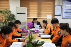 구동철 천안동남소방서장, 직원 소통을 위한 현장부서 방문격려