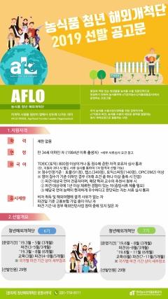 """""""글로벌시장 도전할 청년 '앞으로(AFLO)' 모여라!"""""""
