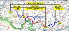 순창 밤재터널 개설 정부 예비타당성조사 면제사업 확정