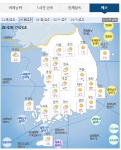 설날 미세먼지 '보통~나쁨'…아침 기온 최저 -7도