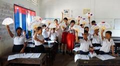대구사이버대, 캄보디아서 해외 자원봉사 활동