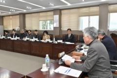 정선군지역사회보장협의체 대표협의체 운영회의 개최