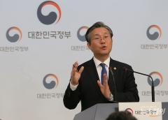 """성윤모 """"일본 불화수소 주장 근거 없어…12일 도쿄서 양자협의""""(종합)"""