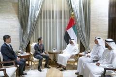 이재용, 2주 만에 다시 UAE 왕세제 만남