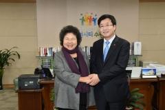 염태영 수원시장, 대만 가오슝시와 국제우호도시 결연 체결