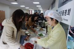 수원대, 화성시 어린이 적정배식량·조리법 알아보는 '식단품평회' 개최