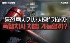 '동전 택시기사 사망' 가해자…폭행치사 가능할까?