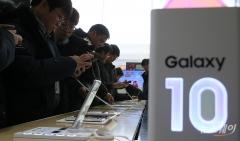 삼성전자, 국내 스마트폰 시장 점유율 65%…애플·LG와 격차 벌려
