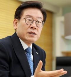 """이재명 지사 """"반도체 클러스터 용인 유치 대승적 판단""""… 세계 최고로 조성"""