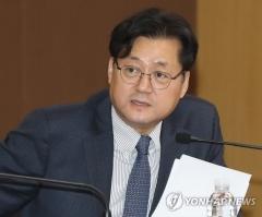 """민주당 """"황교안 대표 선출 축하…협력 기대해"""""""