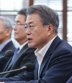 문 대통령 박영선·김연철 임명 찬성 45.8%, 반대 43.3%