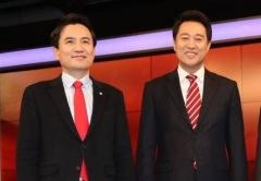1위보다 궁금한 2위…'중도' 오세훈 vs '태극기' 김진태