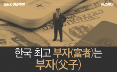 [이슈 콕콕]한국 최고 부자(富者)는 부자(父子)