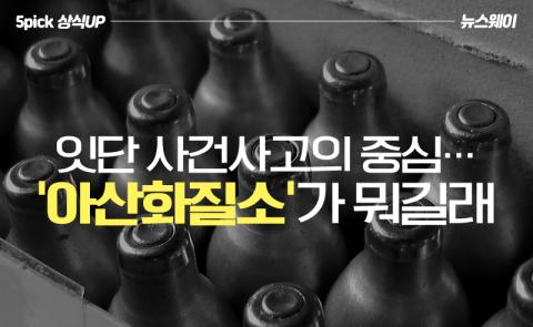 잇단 사건사고의 중심…'아산화질소'가 뭐길래