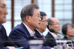 문 대통령 국정지지도 47.7%… 2주째 소폭 상승