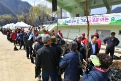 정선군, 꾸지뽕·산수유·철쭉 등 나무 7900본 무료 배부