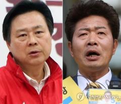 보궐선거, 창원성산 '강기윤 vs 여영국' 1% 차이 접전
