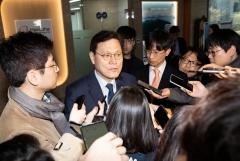 """'타다' 이재웅 향해 작심 비판한 최종구…""""무례하고 이기적"""""""
