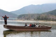 정선아리랑 발상지 '아우라지' 전통 나룻배, 1일부터 운행 재개