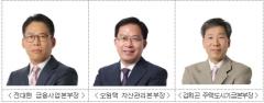 HUG, 신임 본부장에 전대현·오원택·김희곤 선임