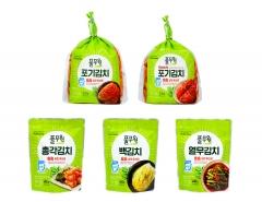 풀무원, '톡톡 김치' 7종 선봬