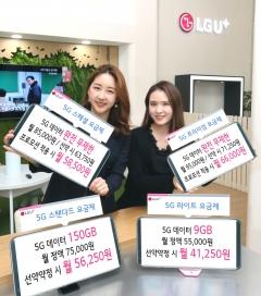 LGU+도 8만원 이상 완전무제한