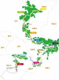 인천시, 26개 코스ㆍ201km 둘레길…완주하면 인증서 지급