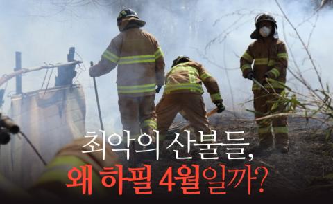 최악의 산불들, 왜 하필 4월일까?