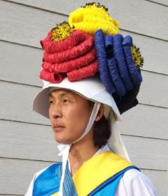 나주 전통 농악대 고깔, 40여년 만에 공연서 첫 선