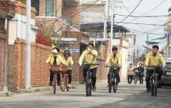 남원시 120민원 봉사대,생활민원 찾아 자전거 투어 진행