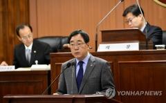 """김철수 속초시장, 산불 현장에 15시간만에 나타나 논란…""""제주도 가족여행"""""""