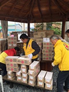 매일유업, 강원도 산불피해 지역 유음료 1만개 지원