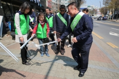 인천도시공사, 친환경 'Go Green 캠페인' 실시...장바구니 등 제공
