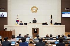 용인시의회, 제233회 임시회 개회…제1차 본회의 열어
