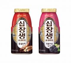 빙그레, 액상 요구르트 '십장생' 2종 선봬