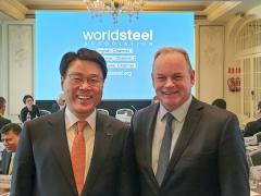 최정우 포스코 회장,세계철강협회 집행위원 선출