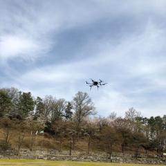 성남시, 민간 업체 '드론 시험 비행' 지원…첫 시험비행