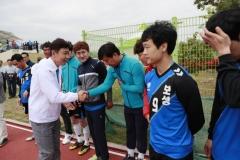 김철우 보성군수, 제58회 전남체전 참가 선수 격려