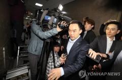 한국당 감금서 탈출한 채이배, 사개특위 참석