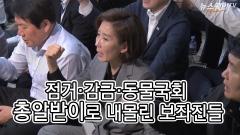 대치·점거·감금… 동물국회 '총알받이'로 내몰린 보좌진들