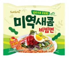 삼양식품, 바다의 향 담은 '미역새콤비빔면' 선봬