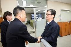손병석 코레일 사장, 근로자의 날 근무 직원들 격려