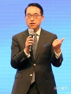 """홍원표 삼성SDS 대표 """"대외사업 매출 19% 목표"""""""