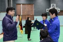 도성훈 인천교육감, 제13회 전국장애학생체육대회 결단식서 선수단 격려