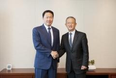 응 켕 후이 AIA 회장, SK 최태원 회장과 공유가치 협력 논의