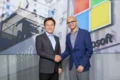 마이크로소프트-SKT, 5G 네트워크·클라우드 결합해 사업 발굴