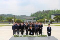 광주문화재단, 국립5․18민주묘지 참배